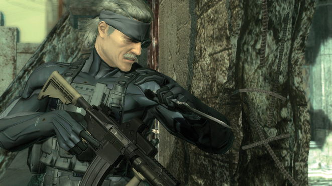 MGS4 Gameplay