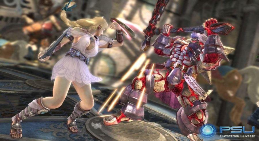 I was really looking forward to Soul Calibur IV. Much like I look forward to ...