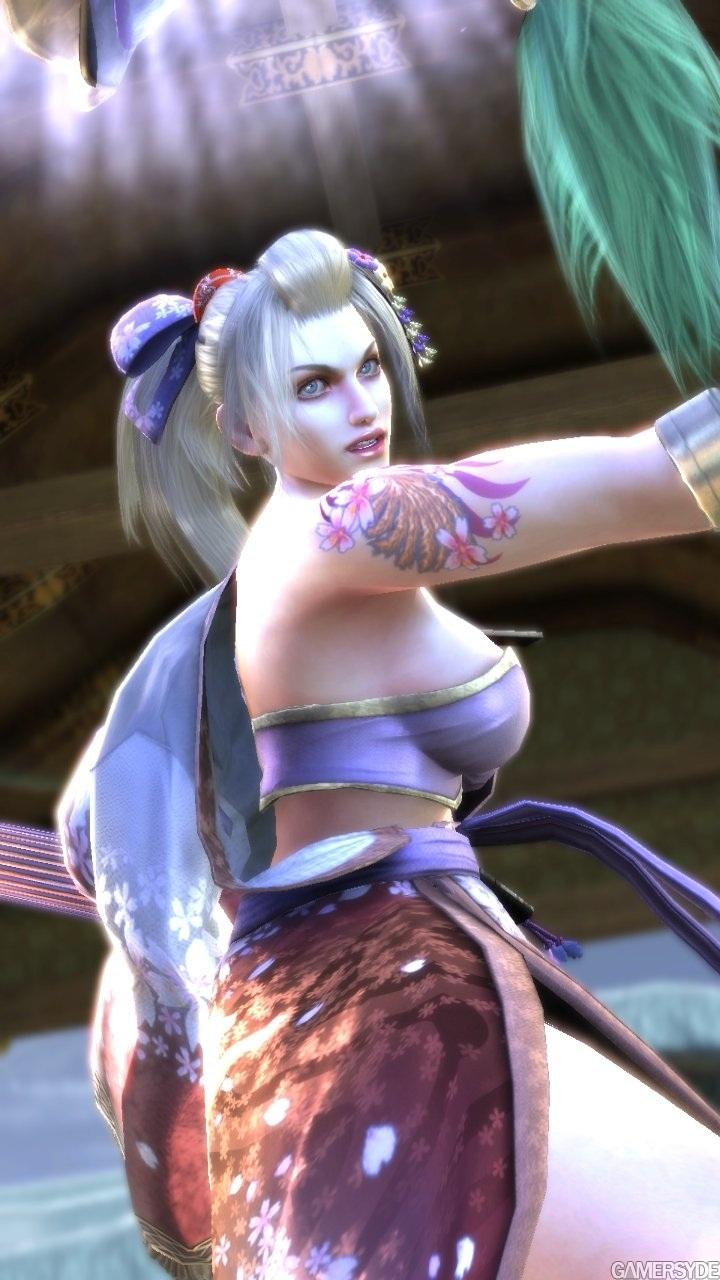 Apologise, soul caliber ivy boob