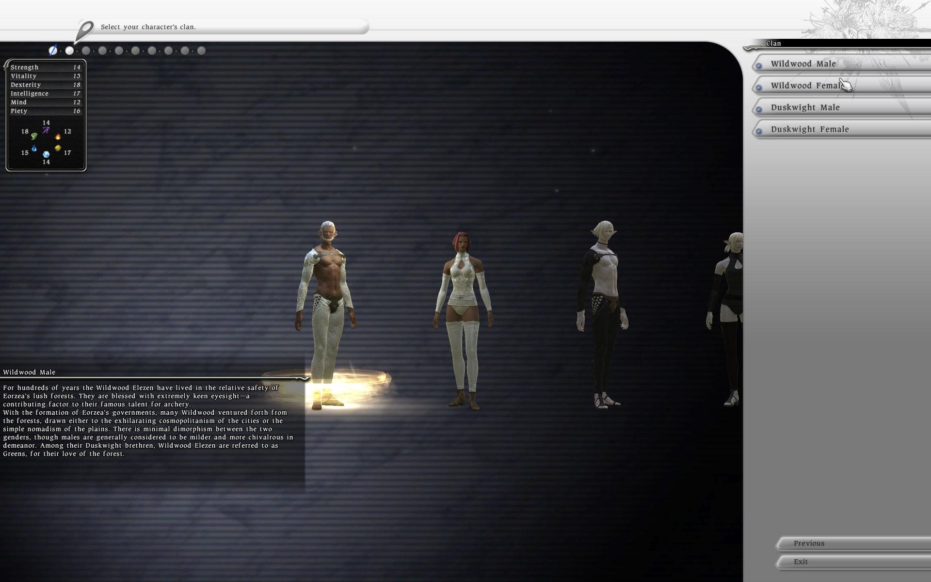 FFXIV Character Creation System Example 2 – Gilles de Rais | Temple