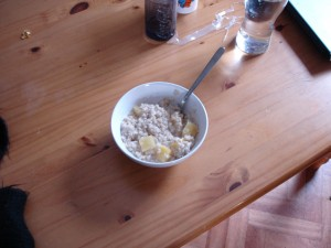 Porridge and Pineapple