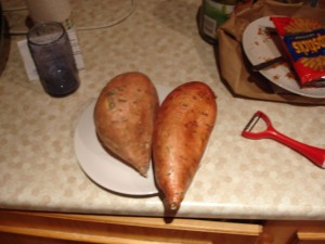 Sweet Potatos (not deformed willies)